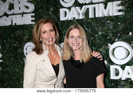 LOS ANGELES - OCT 10:  Martha Byrne, Lauralee Bell at the CBS Daytime #1 for 30 Years Exhibit Reception at the Paley Center For Media on October 10, 2016 in Beverly Hills, CA