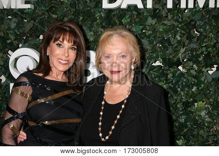 LOS ANGELES - OCT 10:  Kate Linder, Lee Phillip Bell at the CBS Daytime #1 for 30 Years Exhibit Reception at the Paley Center For Media on October 10, 2016 in Beverly Hills, CA