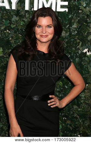 LOS ANGELES - OCT 10:  Heather Tom at the CBS Daytime #1 for 30 Years Exhibit Reception at the Paley Center For Media on October 10, 2016 in Beverly Hills, CA