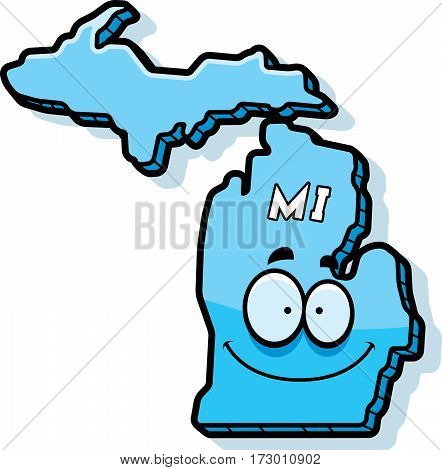 Cartoon Michigan