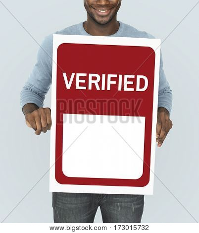 Verified Confirm Authorized Accepted Validate