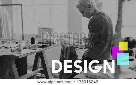 Design Ideas Creativity Colorful BLock