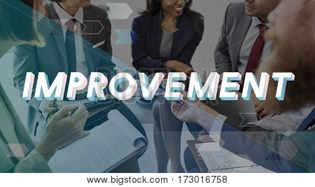 Improvement Progress Growth Efficiency Word