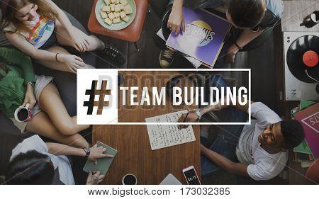 Start up Team Building Teamwork