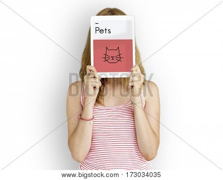 Pets Illustration Symbols Icon Cat