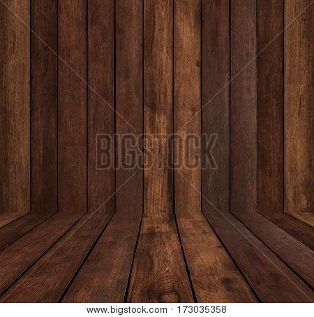 Wood texture background, wood wall and floor