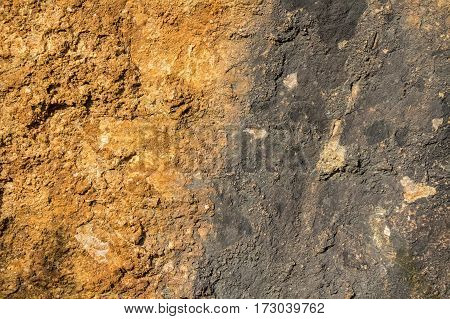 Brown realistic soil and clay texture for ground texturing