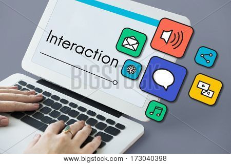 Interaction Online Community Stay Connected