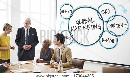 Business Solution Marketing Digital Planning