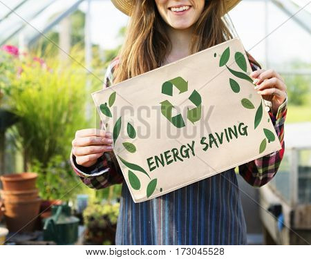 Nature Recycle Save The Planet Icon