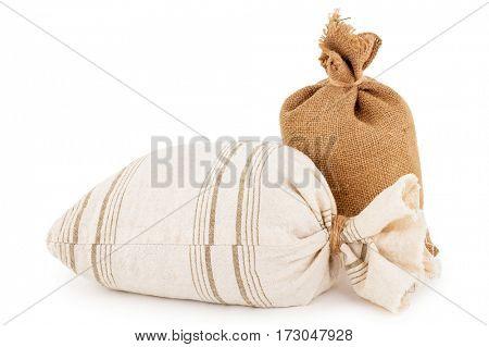 canvas sacks