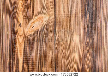 full frame of light rustic brown wooden background with vertical planks