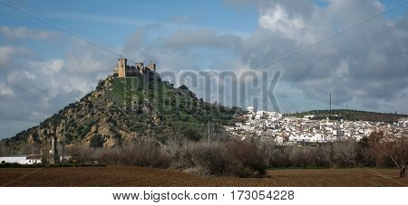 Medieval Castle At Almodovar Del Rio, Cordoba, Andalusia, Spain