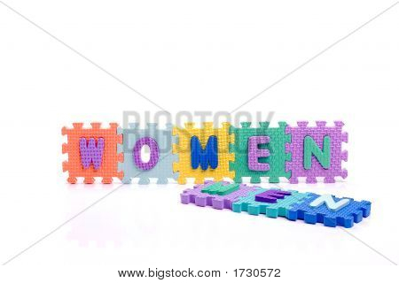 Toy Men And Women