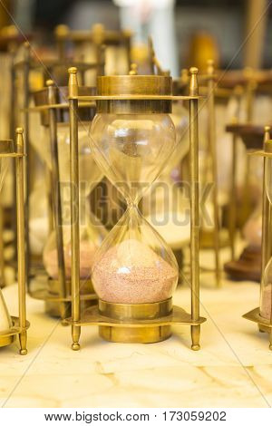 Hourglass Item Display