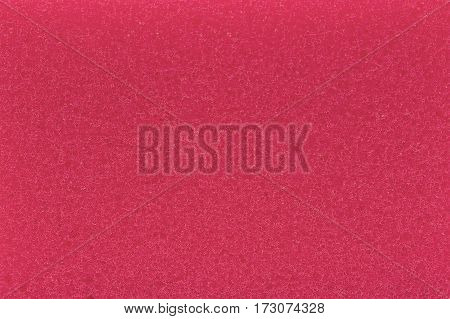 The abstract red sponge texture as a background