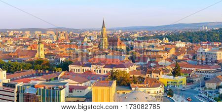 Cluj Napoka Panoramic View, Romania