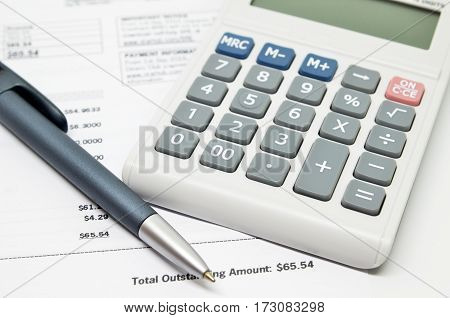 Calculating Numbers For Bill