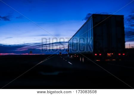Large Truck For Shipping