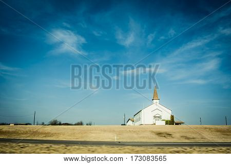 Small Chapel In Rural America