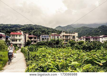 Remote Village In Hong Kong