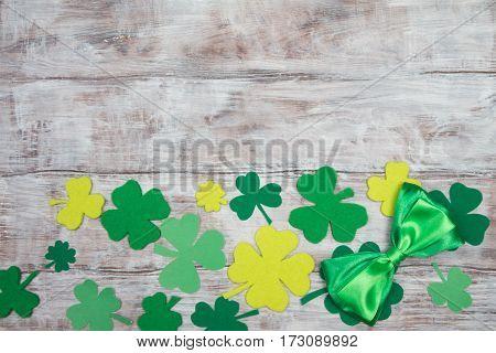 Traditional Irish Decoration On St. Patrick's Day