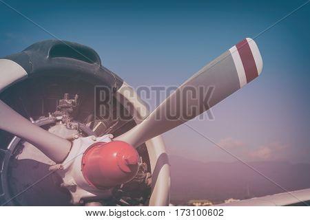 Image Of Plane Fan Impeller.