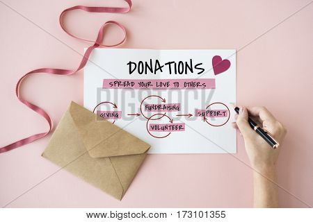 Support Donations Welfare Charity Icon