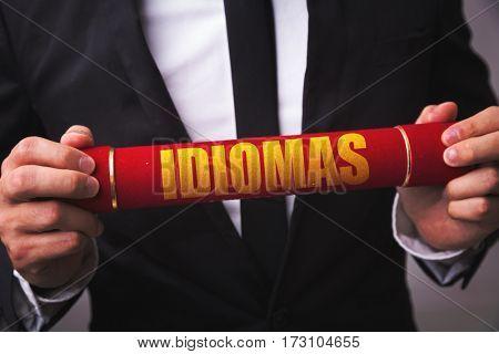 Idioms (in Spanish/Portuguese)