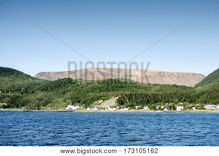 Bonne Bay Gros Morne National Park Newfoundland And Labrador Canada