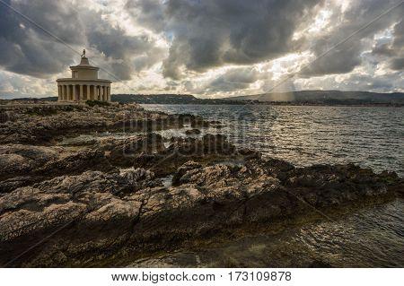 Lighthouse Of Saint Theodore On  Kefalonia, Greece