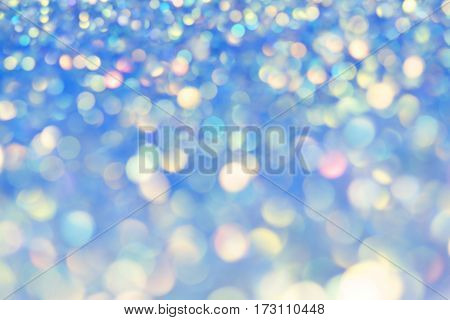 Festive Background With Natural Bokeh And Bright Golden Lights. Vintage Magic Background With Color Festive background with natural bokeh and bright golden lights. Vintage Magic background with colorful bokeh.