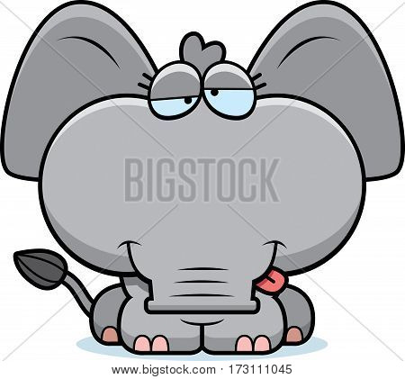 Cartoon Goofy Elephant