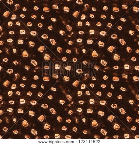 Seamless pattern. real stone 3d exturde texture background