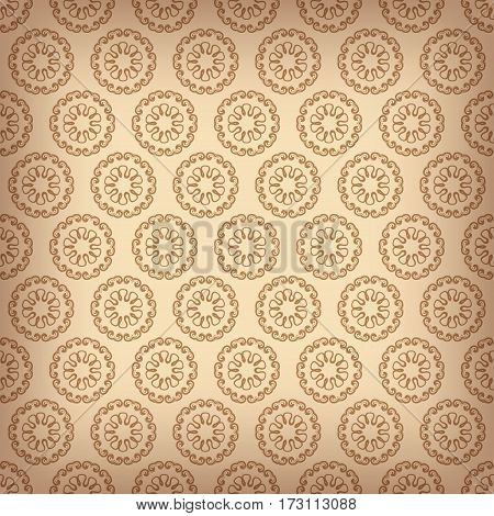 Wallpaper Pattern, Old Paper Texture Background, Vector