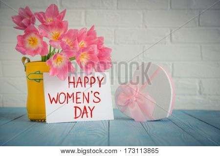 Woman's Day Concept
