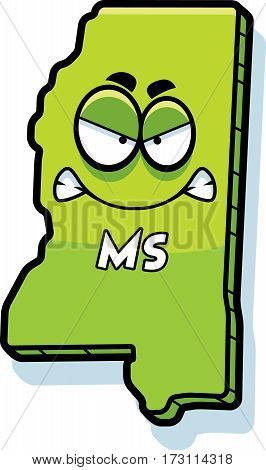 Cartoon Angry Mississippi