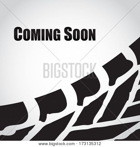 coming soon abstract background,  vector illustration, eps10