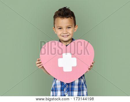 Little Boy Heart Concept