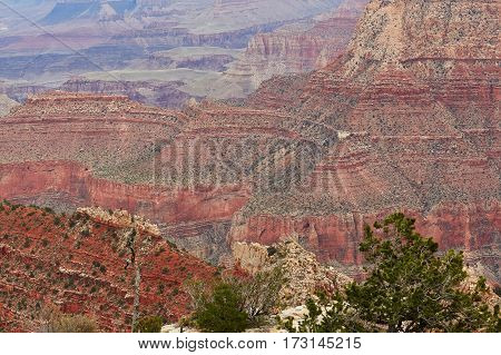 Scenic View Of Grand Canyon, Usa
