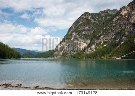 Pragser Wildsee, or Lake Prags or Lago di Braies is a lake in the Prags Dolomites in South Tyrol, Italy