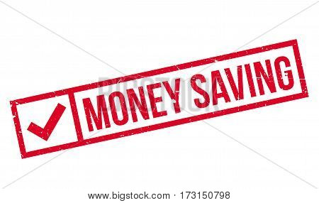 Money Saving rubber stamp. Grunge design with dust scratches. Effects can be easily removed for a clean, crisp look. Color is easily changed.