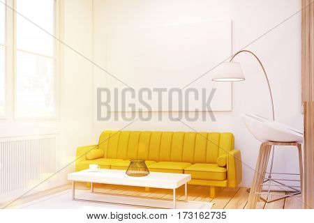 Living Room With Picture, Close Up, Toned