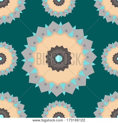 Abstract seamless pattern. Beautiful vector illustrations for design tile and tile floor.
