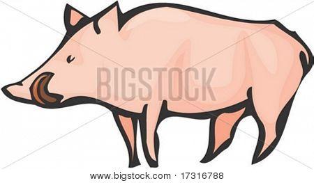 Carácter de cerdo
