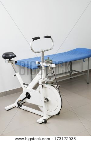 Exercise Bike And Bed In Hospital