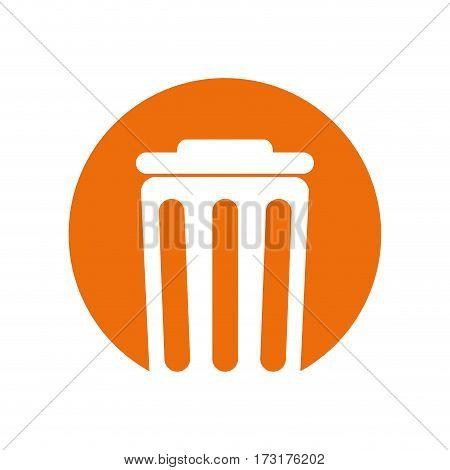 trash can environment design vector illustration eps 10