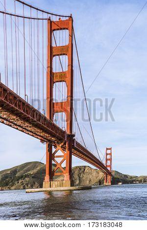 Golden Gate Bridge San Francisco, California USA