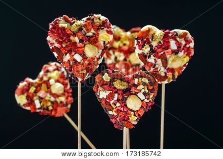 heart sweets
