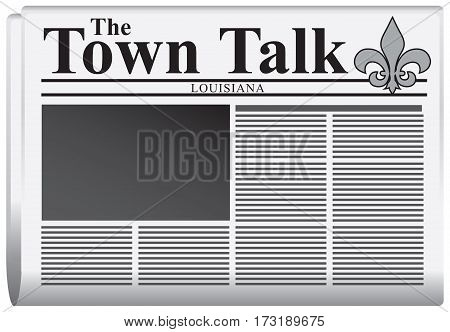 Newspaper The Town Talk United States - Louisiana.